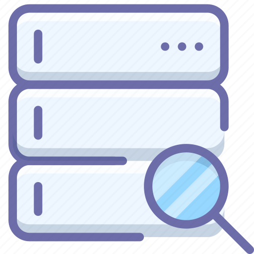 database, search, server icon
