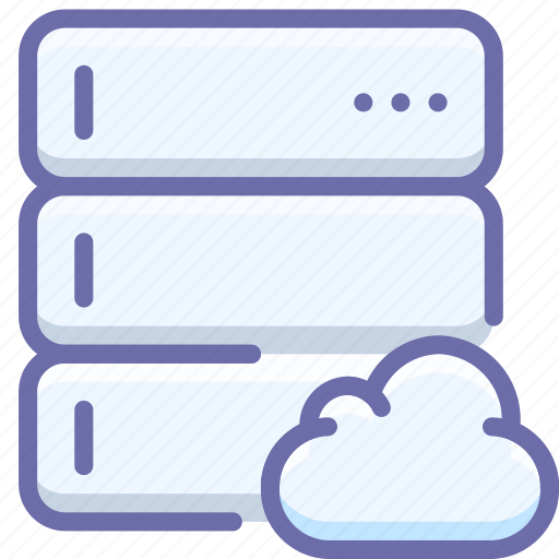 cloud, database, server icon