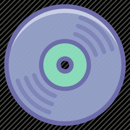 album, dj, vynil icon