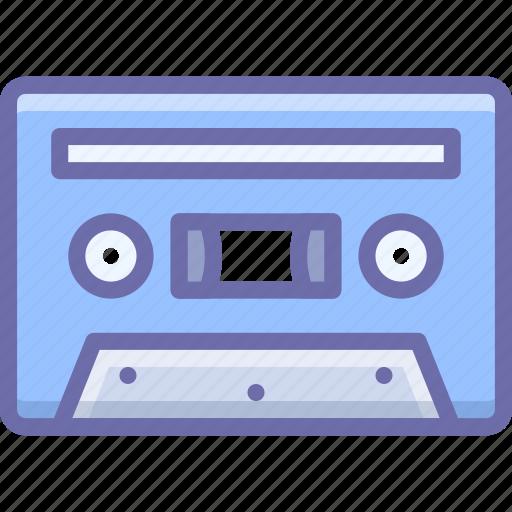 analog, audiotape, vintage icon
