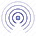 radio, signal, waves icon