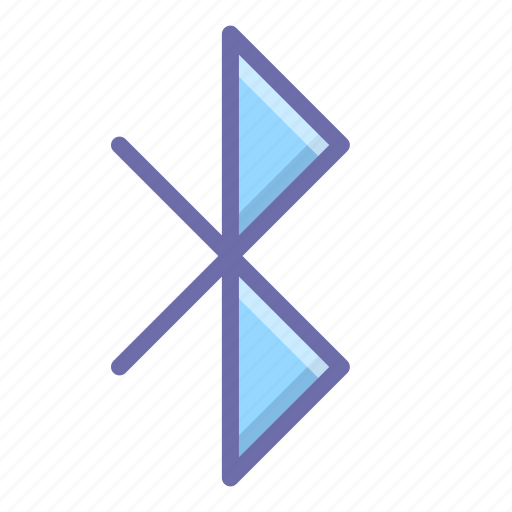 bluetooth, sign icon