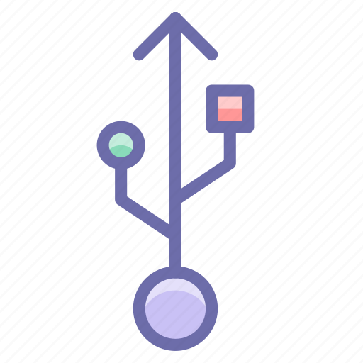 connection, usb icon