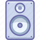 bass, monitor, speaker icon