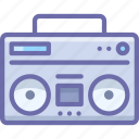 boombox, music, player icon