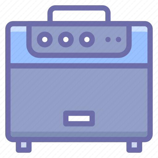 amp, amplifier, guitar icon