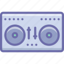 audio, disco, dj, mix, mixing, music, vynil icon