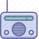device, radio icon