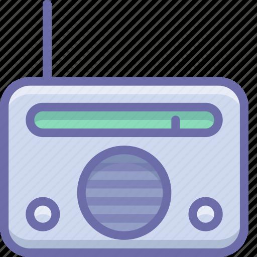 device, radio icon