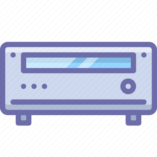 amplifier, media, player icon