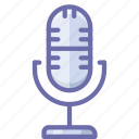 live, mic, microphone icon