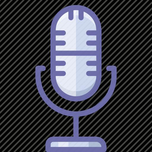 live, mic, microphone icon
