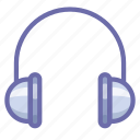 headphones, headset icon