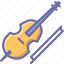 audio, cello, instrument, music, sound, violin, violincello icon