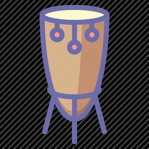 african, drum, instrument icon