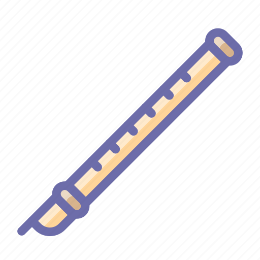 flute, instrument, musical icon