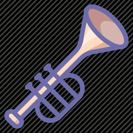 fife, instrument, trumpet icon