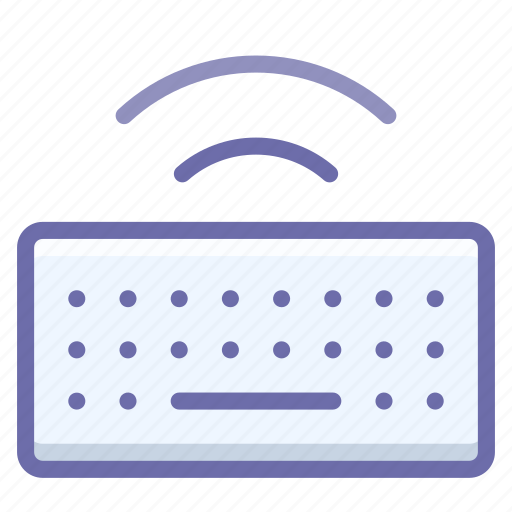 hardware, keyboard, type, wireless icon