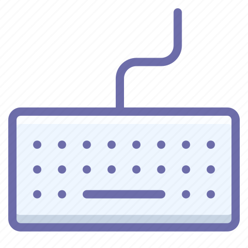 hardware, keyboard, type icon