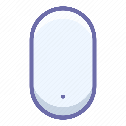 Wireless, mouse, apple icon