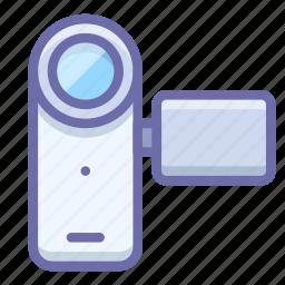 cam, camcorder, camera, device, media, video icon