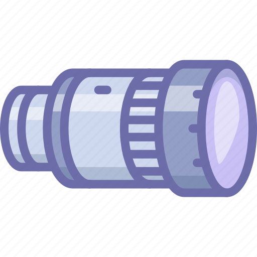 Camera, lens, photo, telescope icon - Download on Iconfinder