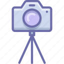 camera, photo, tripod icon