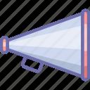 advertise, megaphone icon