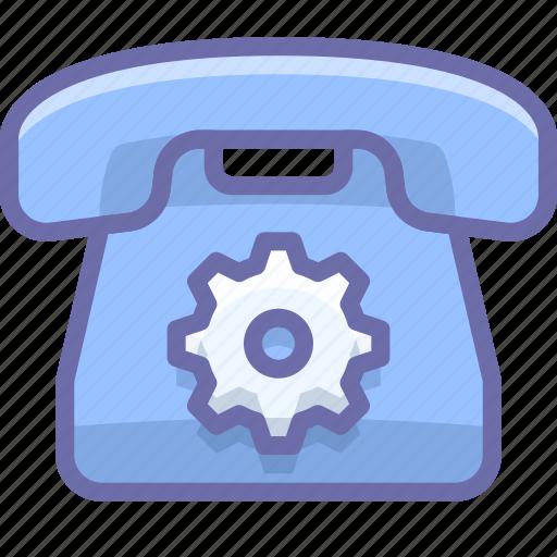 control, options, phone icon