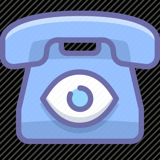 bigbrother, phone, spy icon