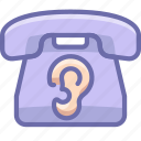 ear, phone, spy