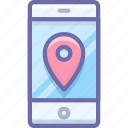 location, maps, mobile icon
