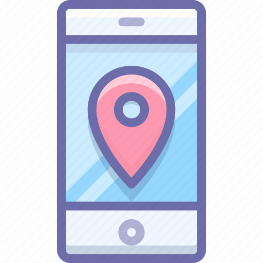 location, maps, mobile icon