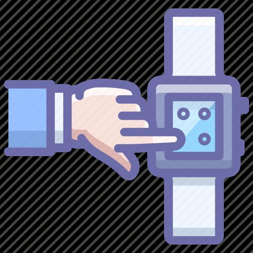 Hand, smart, watch icon - Download on Iconfinder
