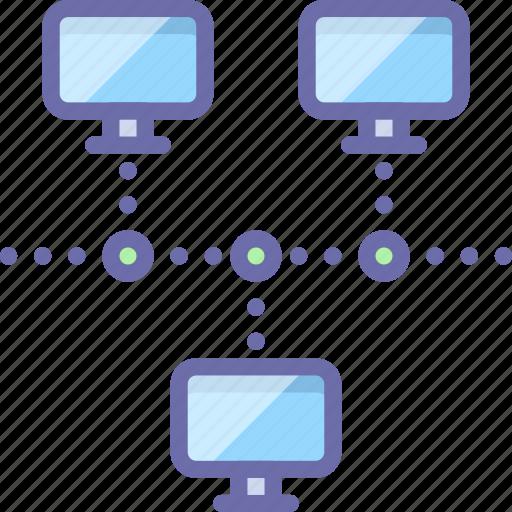 network, web, workstation icon