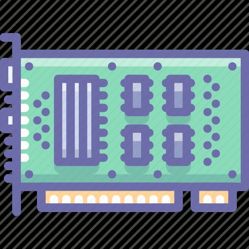 card, hardware, pci icon