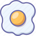 egg, kitchen, omelet icon