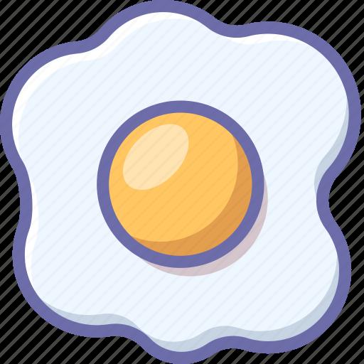 egg, kitchen, omelet icon