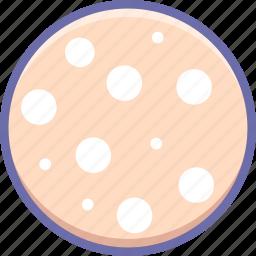 food, sausage, slice icon