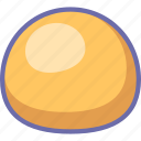 baking, bread, bun icon