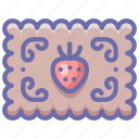 cake, cookie, honey icon