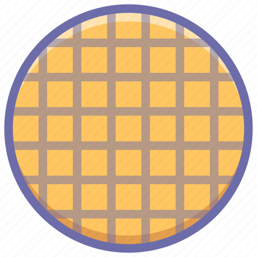 food, viennese, waffle icon