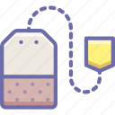 drink, tea, teabag icon