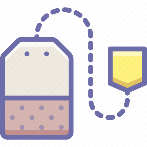 drink, tea, teabag icon