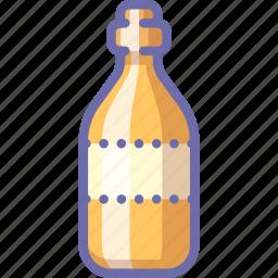 bottle, oil, wine icon