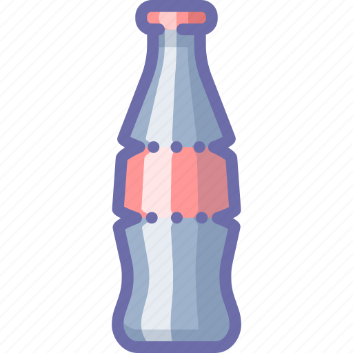 bottle, cola, glass icon