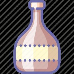 bottle, brandy, liquor icon