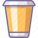 coffee, drink, take away icon