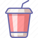 cola, drink, takeaway icon