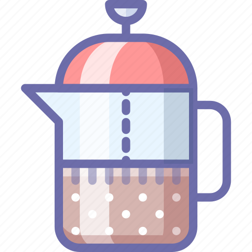 french, tea, teapot icon